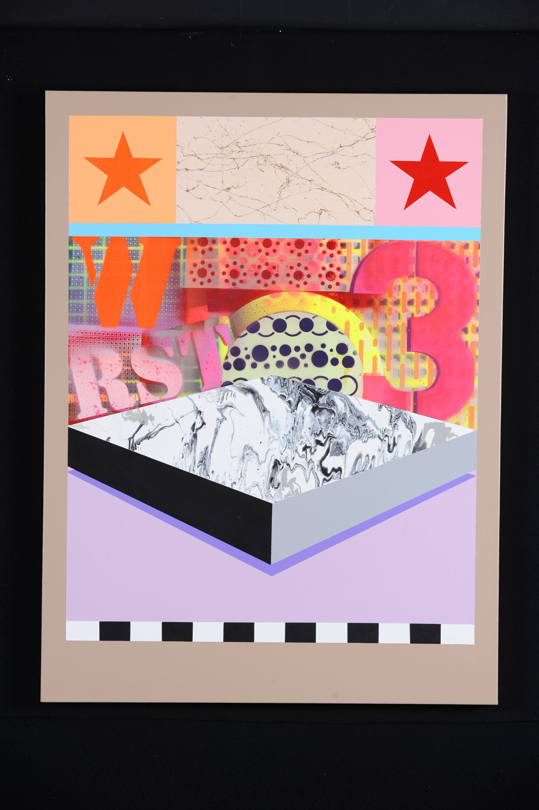 """BEAU SOLEIL #3 - 2010   30""""W X 40""""H"""