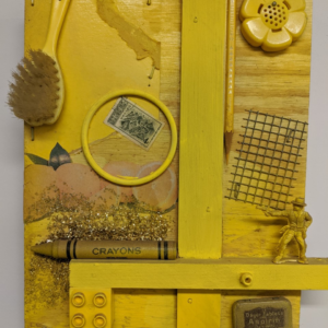 Yellow Fever | 10w x 12h x 3d